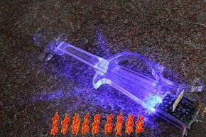 包邮高档水晶电子 小提琴透明电子琴 电声小提琴带夜光有机玻璃琴