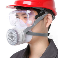 Gas mask dust mask silicone spray paint chemical pesticide industrial gas anti-formaldehyde odor welding mask
