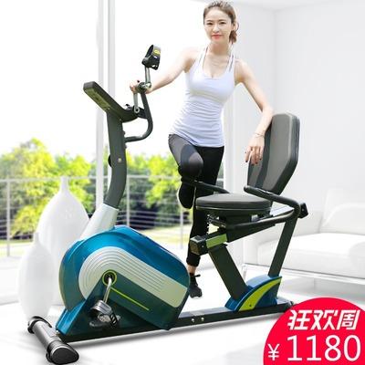 卧式健身车家用超静音室内器材动感单车老年人康复训练脚踏自行车品牌巨惠