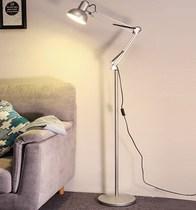 坐地灯折叠落地式调光美式灯泡后现代立地式可卧室卧室落地灯学生