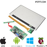 1080P full-view Raspberry Pi 10-inch IPS LCD computer monitor DIY kit HDMI-VGA