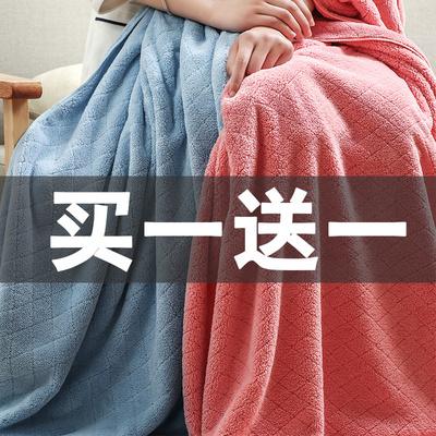2条装浴巾成人个性超强吸水比纯棉全棉柔软男女情侣加大加厚毛巾