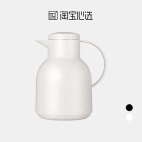 淘宝心选欧式保温壶玻璃内胆暖水壶热水瓶