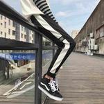 韩版学生休闲裤男青年小脚运动裤