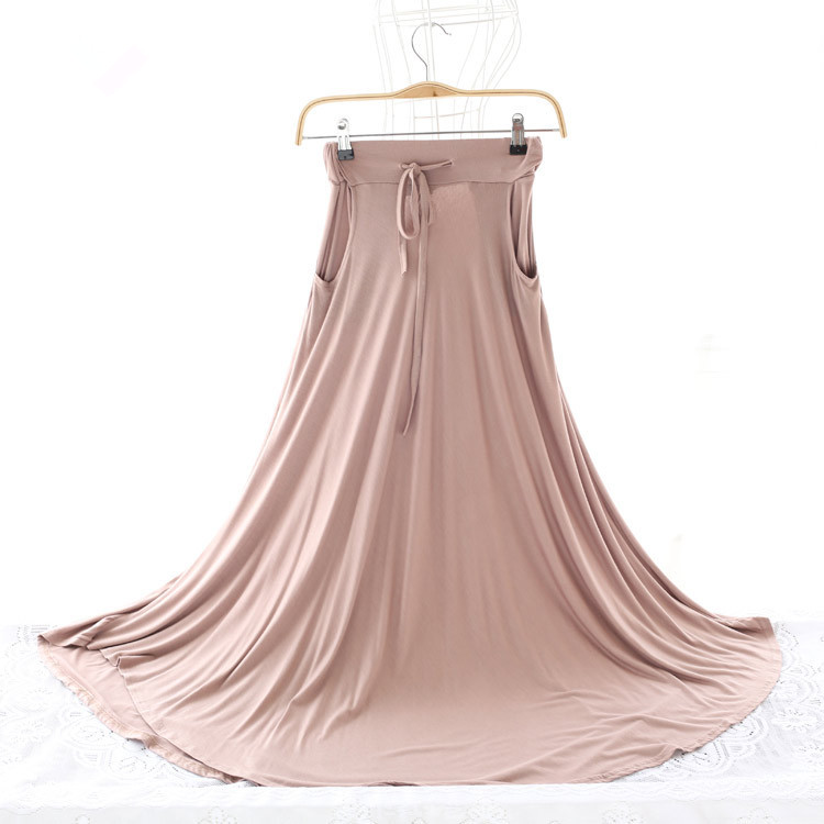 显瘦韩版喇叭裙