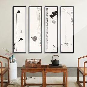 寓意花鸟墙上装饰画风格大气家居壁挂背景挂画国画客厅艺术卧室