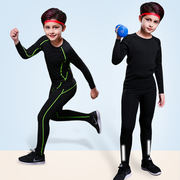 Children's tights training suits men's running basketball football leggings kids sports quick-drying clothes fitness clothes