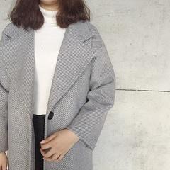 秋冬季韩国大衣