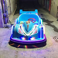 2019 new crazy racing double bumper car children's square play equipment adult electric battery car outdoor