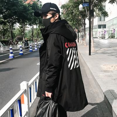 男士外套冬季棉衣男装韩版2018新款个性潮男加厚棉服学生百搭棉袄