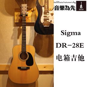 【先声乐器】Sigma 电箱吉他 DR-28E