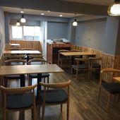 简约快餐桌椅咖啡厅奶茶店西餐饮品甜点饭店烧烤牛排面馆桌椅组合图片
