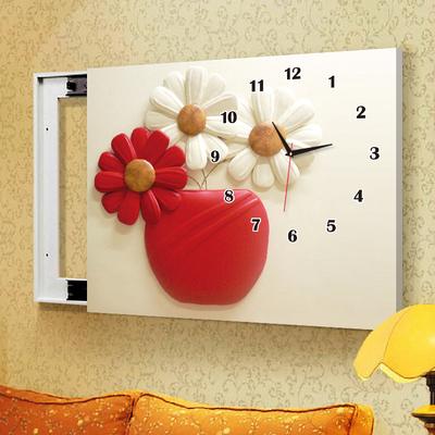 电表箱中式装饰画带钟表销量排行
