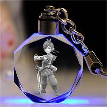 梦幻西游水晶钥匙扣挂件生日礼物女生送男同学纪念品剑侠客骨精灵