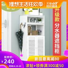 地暖分水器遮挡柜暖气片遮挡箱罩创意水洗管道燃气盒弱电装饰箱柜