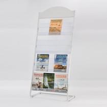 办公报刊立式简约多功能海报架落地式小型壁挂柜简易杂志架