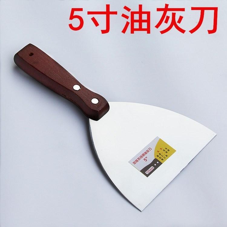 扒铲子炒铲刀不锈钢铲子酸奶牛排煎饼 烤冷面炒铲刀铲 专用铲 平