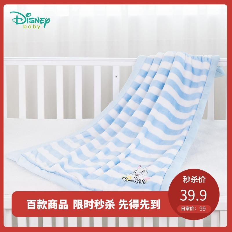 迪士尼儿童被子秋冬新款法兰绒宝宝毛毯卡通家居小孩被子183P798
