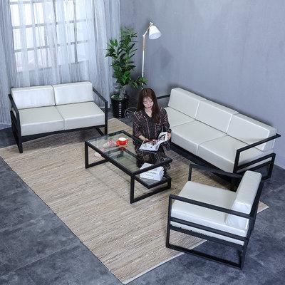 北欧铁艺沙发休闲咖啡卡座茶几组合客厅服装店现代家具创意办公椅特价精选
