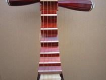 高级红色木骨花镶嵌骨条大人儿童琵琶乐器练习琴初学专业厂家直销