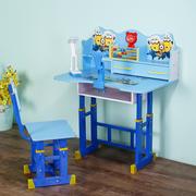儿童学习桌小学生写字桌可升降书桌简约幼儿园家用小孩课桌椅套装