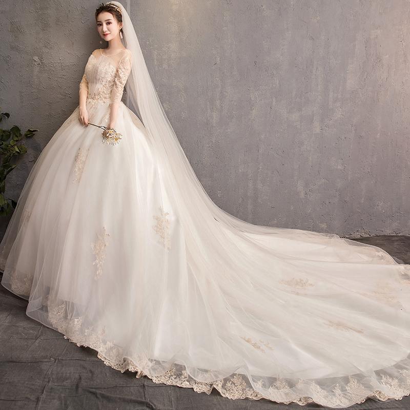 花清姿HQZ-0232新娘礼服