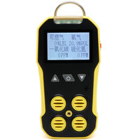 4-in-1 gas detector toxic and harmful gas detector flammable carbon monoxide hydrogen sulfide oxygen concentration