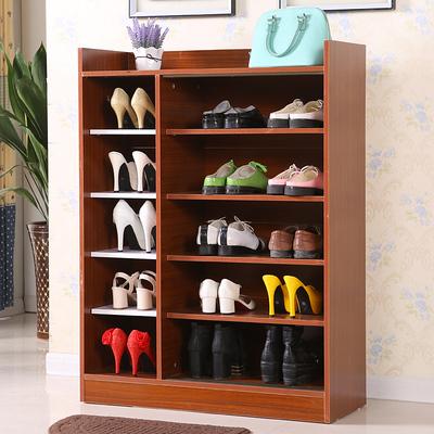 实木推拉鞋柜