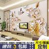 瓷砖背景墙彩雕