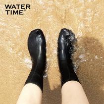 浮潜潜水袜防滑防刮冲浪短袜速干印防割弹力游泳袜子2MM鲨巴特