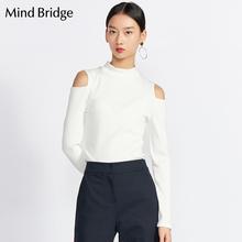 时尚 修身 MRTS724A T恤衫 Bridge百家好女装 T恤女士韩版 长袖 Mind