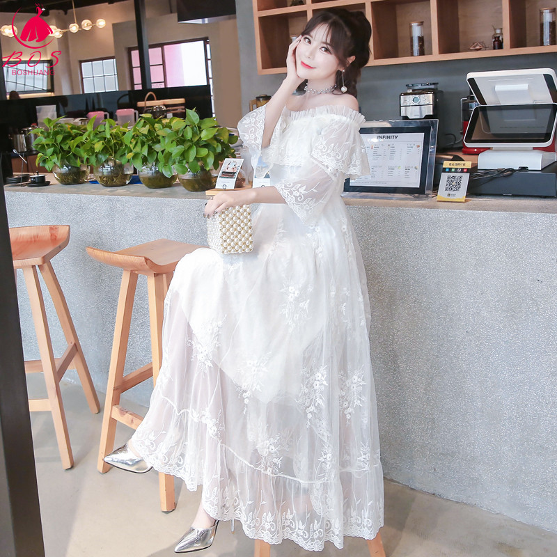 超仙长连衣裙
