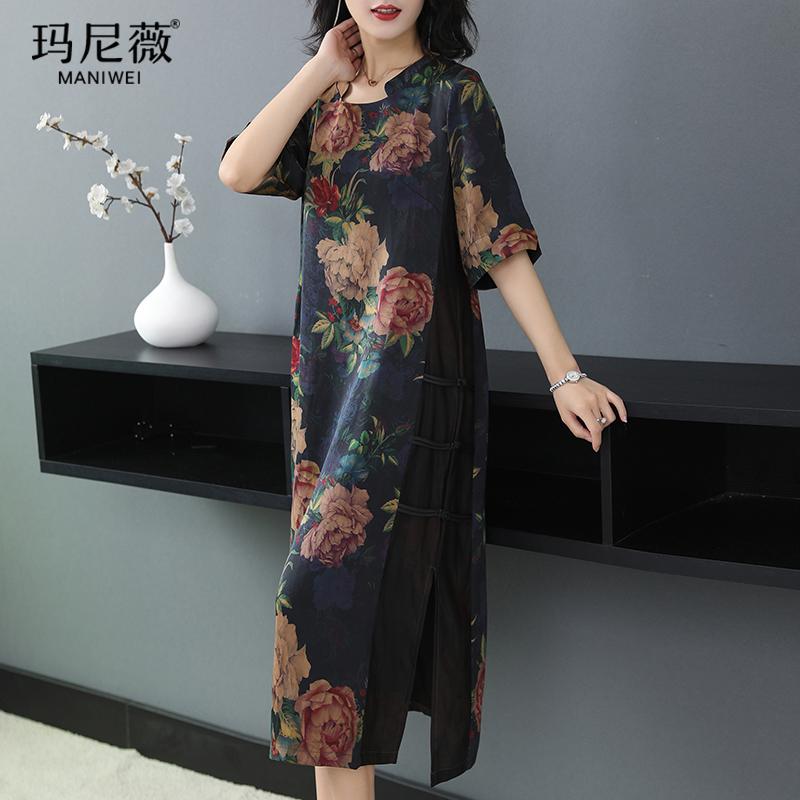 玛尼薇H1832旗袍