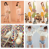 Pregnant women photo clothing studio pregnant women photo service new theme sexy cute mummy pregnant women photo photo clothing