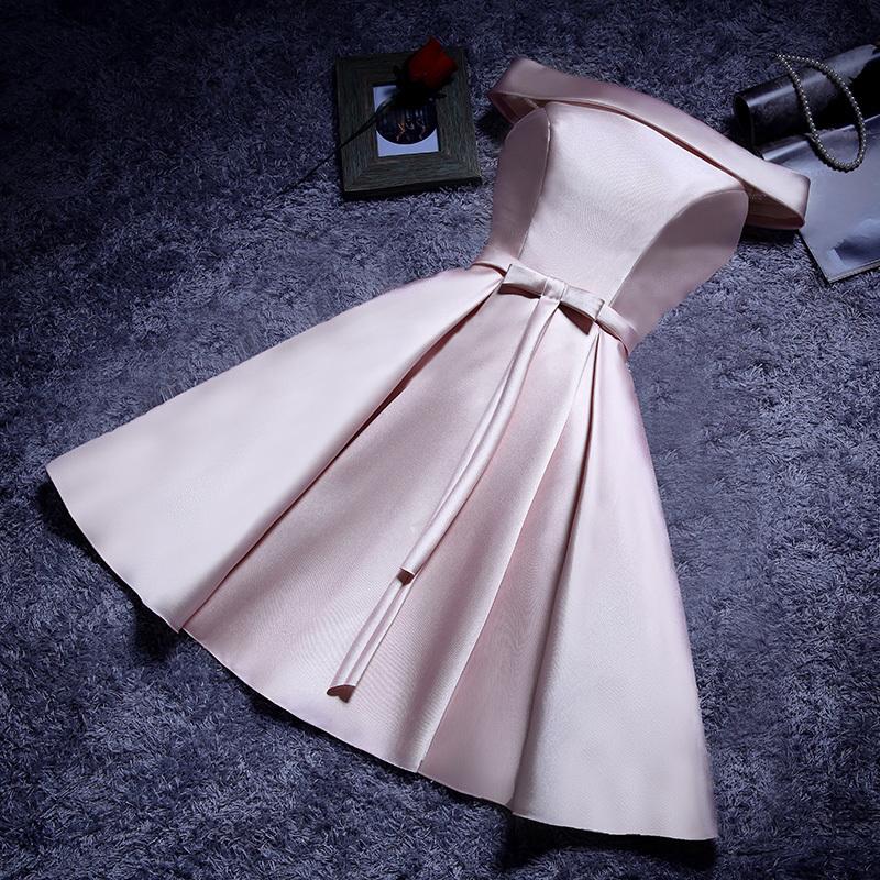 韩版绑带礼服