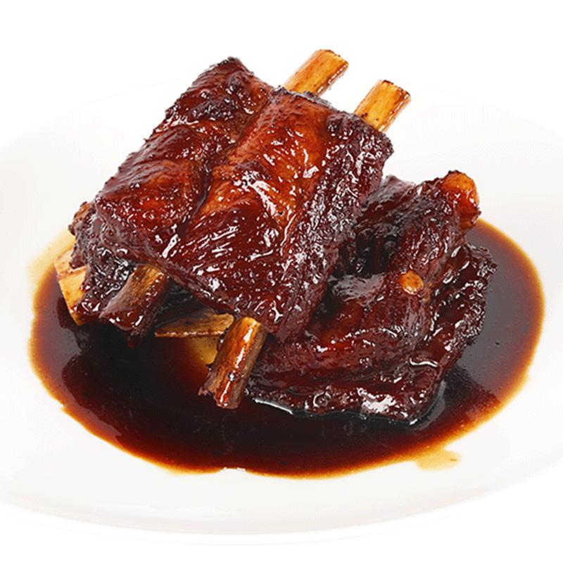 富财神万三苏州周庄特产酱排骨380g卤味熟食排肉真空包装美食小吃图片