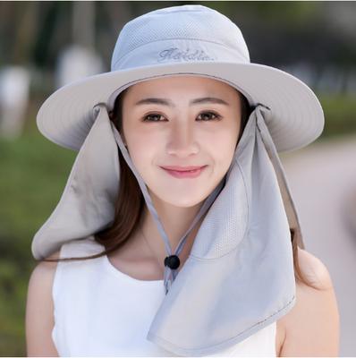 调节光身遮阳帽遮脸公主轻便优雅自行车儿童款2018女士农活大沿