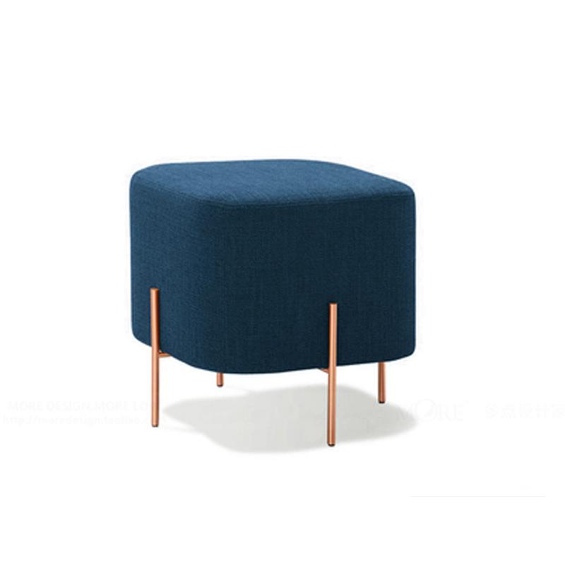 北欧时尚小凳子创意换鞋凳沙发凳鞋店穿鞋矮凳试鞋凳服装店休息凳