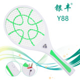 Electric mosquito swatter Yinfeng household strong fly swatter charged mosquito swatter multi-functional LED lamp fly swatter Y88
