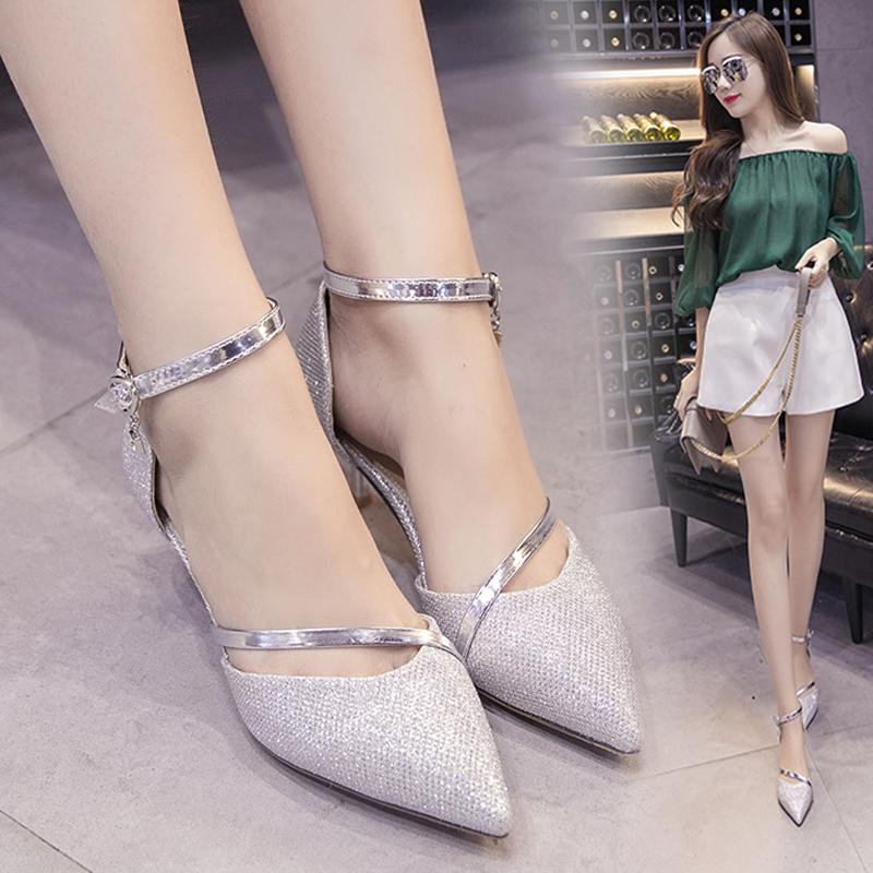 低跟婚鞋单鞋