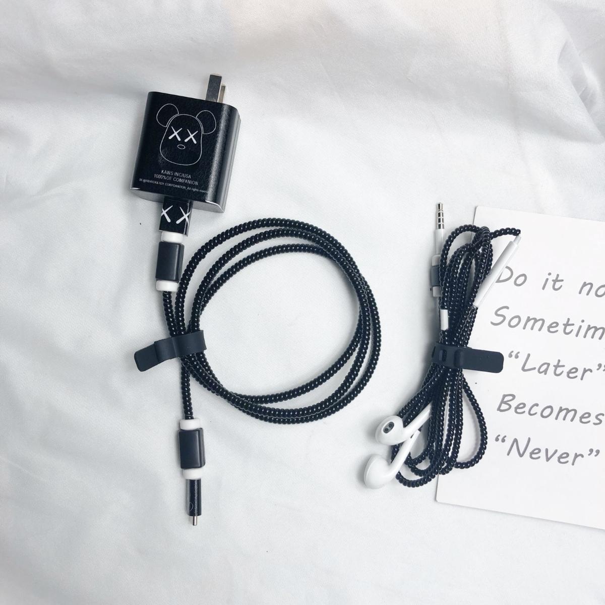 充电线绕线器保护套耳机缠华为P30