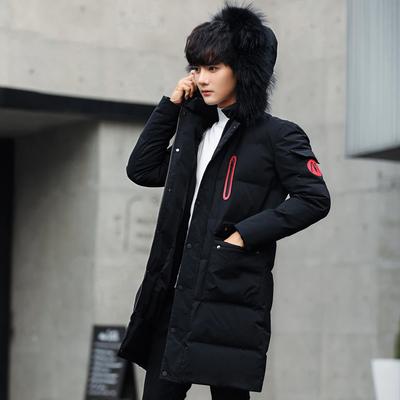 冬装13初中学生14男孩子加厚棉衣15青少年16中长款17岁韩版外套潮