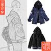 韩版显瘦冬季外套