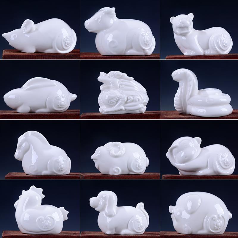 陶瓷牛白色