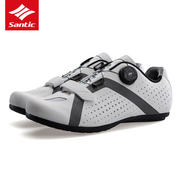 Santic Sendi 18 new lock-free cycling shoes bicycle non-locking shoes casual road shoes spinning buckle male