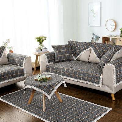 英伦风 棉麻简约布艺沙发垫四季通用防滑加厚组合坐垫沙发套罩巾哪个牌子好