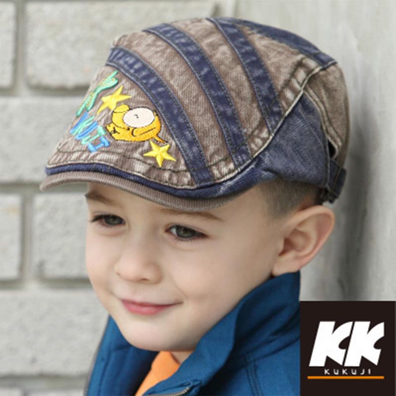 宝宝贝雷帽鸭舌帽