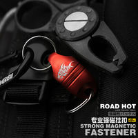 Hot road road Asia new strong magnetic hang buckle magnetic hang buckle quick connection buckle connector practical fishing tools
