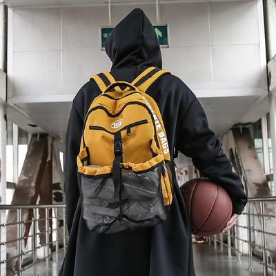 多功能大容量足篮球排球训练运动双肩背包男女户外休闲鞋便携健身