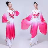Falling flower classical dance costume female elegant Chinese style dance costume new modern dance suit Yangko clothing adult